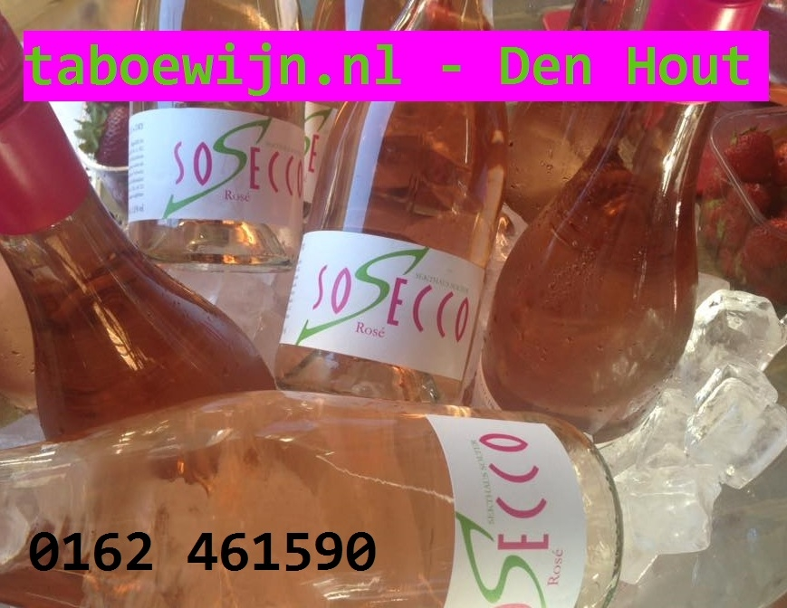 onze partner taboewijn brengt Het nieuwe zomerdrankje voor 2015...SoSecco via www.taboewijn.nl